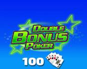 Double Bonus Poker 100 Hand